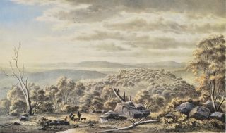 Top Of Mount Lofty Near Adelaide [South Australia]. Eugene von Guerard, Austrian/Aust