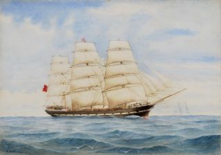 """Wanganui"" [Clipper Ship"