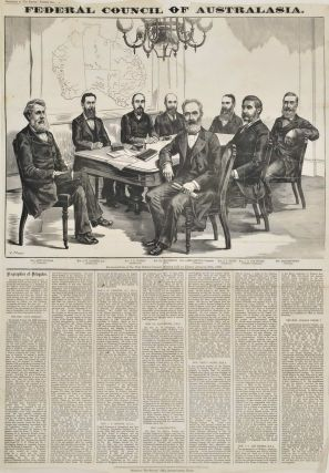Federal Council Of Australasia. After J. Macfarlane, British