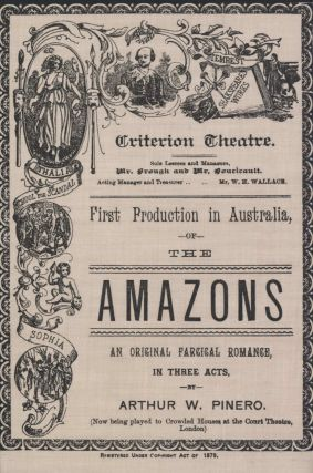 "First Production In Australia Of ""The Amazons"""