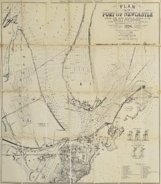 Plan Of The Port Of Newcastle [NSW