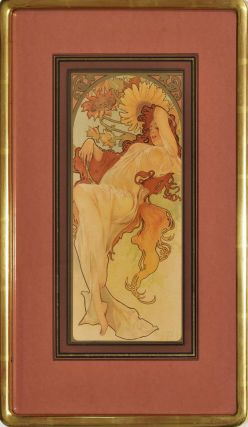 Chocolat Masson/Chocolat Mexicain [The Four Seasons]. Alphonse Mucha, Czech