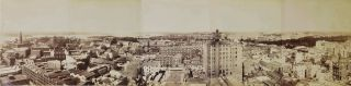 Panorama Of Sydney Looking East From Tower Of General Post Office. Government Printer, est. 1842...