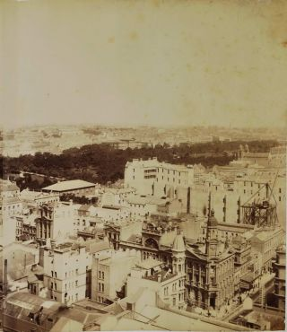Panorama Of Sydney Looking East From Tower Of General Post Office