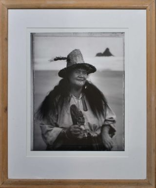 Maori Woman With Hat
