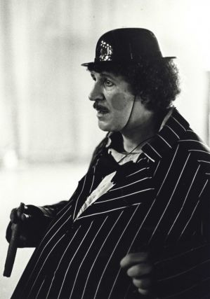 Actor Grahame Bond (Aunty Jack) On Set For Celebrity TV Commercial For The Deaf. Robert...