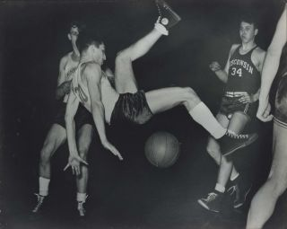 Oomps [Basketball Match Between Wisconsin And Minnesota]. Harry F. McGonigal, c1906–1958...