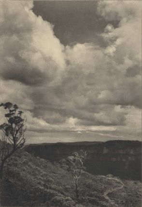 Landscape, Katoomba [Blue Mountains, NSW]. William H. Moffitt, 1888–1948 Aust