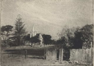 The Church, Shellharbour [NSW]. William H. Moffitt, 1888–1948 Aust