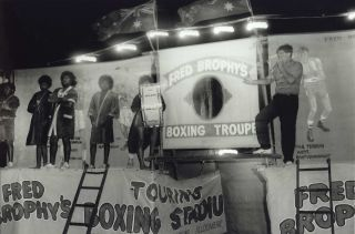Fred Brophy's Boxing Troupe, Birdsville, Qld]. Charles Page, b.1946 Aust