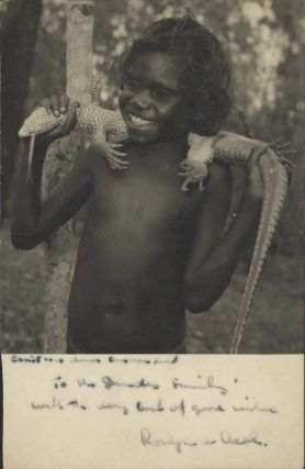 Christmas Dinner, Arnhem Land [Lizard]. Axel Poignant, 1906–1986 Aust