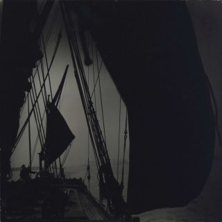 "The ""Sara"" Sailing Barge, London. David Potts, 1926–2012 Aust"