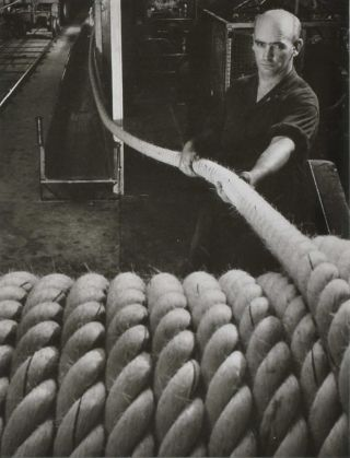 Ropemaking, Miller Rope Factory, Melbourne. Wolfgang Sievers, 1913–2007 German/Aust