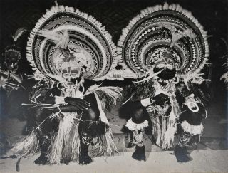 Initiation Dancers, Maprik, New Guinea. Robin Smith, b.1927 NZ/Aust