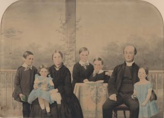 Rev. Thomas Henry Druitt And Family]. William Hetzer, active 1850–1867 German