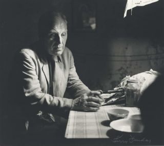 Godfrey Miller In His Studio, Young Street, Sydney. Kerry Dundas, 1931–2010 Aust