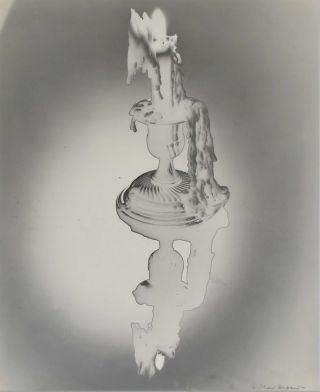 Solarised Candle With Reflection]. Max Dupain, 1911–1992 Aust