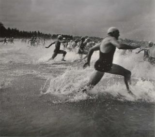 Surf Race Start. Max Dupain, 1911–1992 Aust