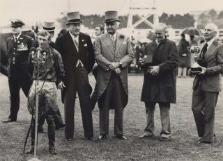 Sir John Kerr [Governor General] And Winning Jockey, Melbourne Cup. Rennie Ellis, 1940–2003...