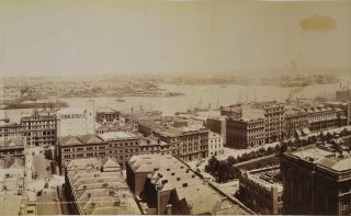 Panorama Of Sydney Looking West From Tower Of General Post Office