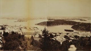 Panorama Of The City And Harbour Of Sydney From North Sydney, NSW