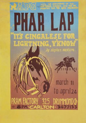 """Phar Lap"" By Stephen Mastare"
