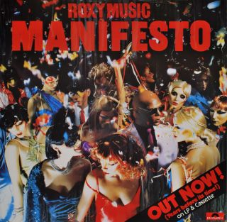 "Roxy Music ""Manifesto"" [Band"