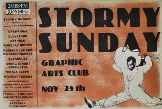 Stormy Sunday. Graphic Arts Club