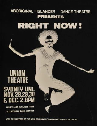 "Aboriginal-Islander Dance Theatre Presents ""Right Now!"""