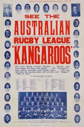 "See The Australian Rugby League ""Kangaroos"""