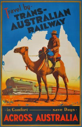 Travel By Trans-Australian Railway Across Australia. James Northfield, 1887–1973 Aust