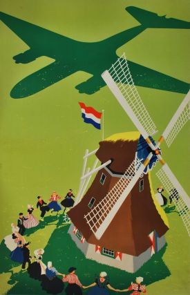 Celebration At Windmill In Holland