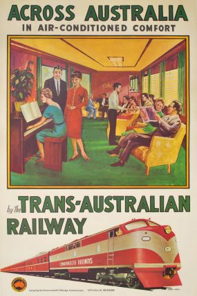 Across Australia In Air-Conditioned Comfort. Percy Trompf, 1902–1964 Aust