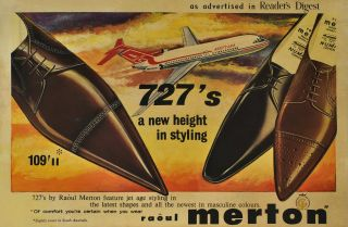 727's, A New Height In Styling [Raoul Merton Shoes