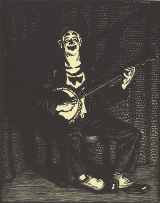 The Banjo Player]. Will Mahony, 1905–1989 Aust