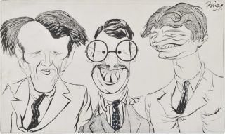 Caricature Of Three Men]. George Finey, 1895–1987 Australian