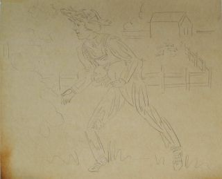 Collection Of Drawings For Australian Department Store Murals And Other Commercial Work