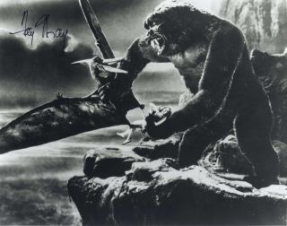 "Fay Wray Autograph On ""King Kong"" Movie Still"