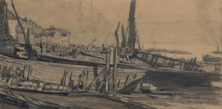 Shipyard]. Muirhead Bone, 1876–1953 British