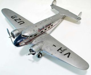 Ansett Airways Lockheed 10B Aeroplane Model
