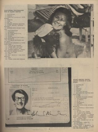 "Andy Warhol Autograph On ""Interview"" Magazine"