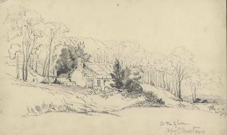 At The Glebe [NSW]. Rosalie Ann Thorne . After Conrad Martens, 1850–1927 Aust.,...