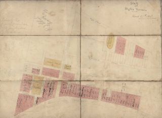 State Of Bligh's Terraces [Street Plan, Newtown, NSW