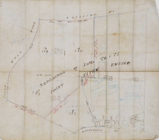 Subdivision Of Lots 26 & 27, Point Piper Estate [NSW
