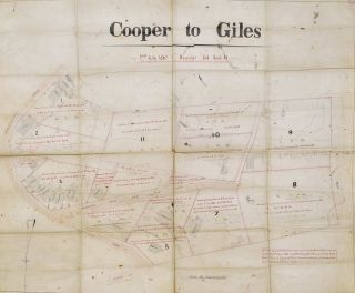 Cooper To Giles Map [Woollahra, NSW