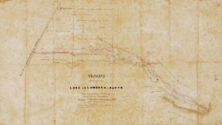Tracing Of A Road From Lake Illawarra To Dapto [NSW
