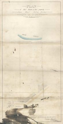 Plan Of Messrs Hinton & See's Property, Albion Wharf, Darling Harbour, City Of Sydney
