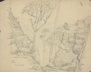 [Views Of The Blue Mountains, NSW]