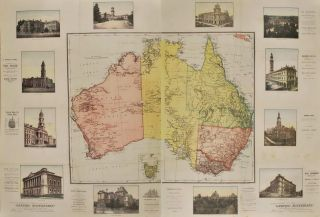 "Supplement To ""The Graphic Australian"" [Map Of Australia"
