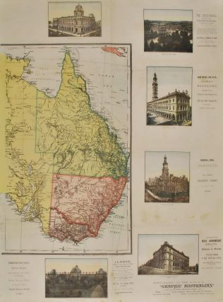 """Supplement To """"The Graphic Australian"""" [Map Of Australia]"""